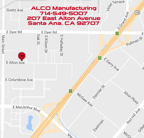 ALCO Manufacturing map
